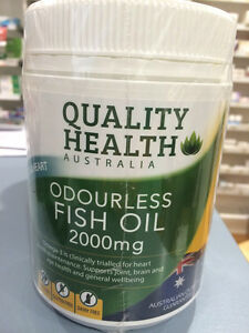 Fish Oil 2000mg 200 Odourless Capsules
