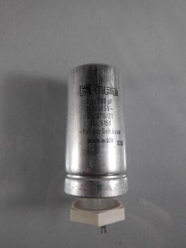 Elko 200 µF 350 385 V Kondensator ELYT 5151 capacitor