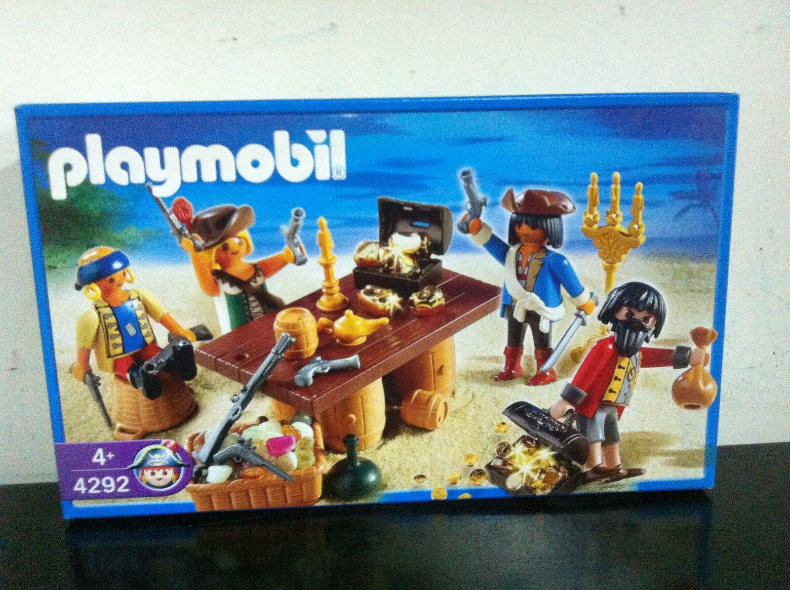 Playmobil Pirati 4292 CIURMA DEI PIRATI MIB,  2006  wholesape economico