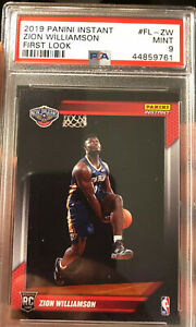 Zion-Williamson-Rookie-Panini-Instant-First-Look-1-Of-14091-Made-PSA-9-2019