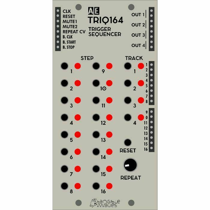 Tangible Waves AE Modular TRIQ164 Trigger Sequencer Module