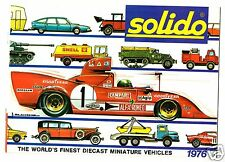 1976 Solido Catalog - Mint!