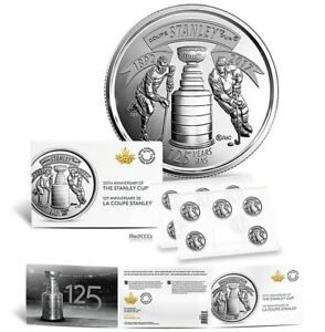 2017-Canada-125th-Anniversary-Stanley-Cup-25-Cents-Coins-10-Coin-Pack