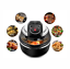 NEW Electric Air Fryer Cooker Roaster Griller Oil Free Non Stick BBQ Cooking