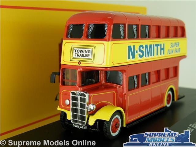 AEC REGENT BUS MODEL 1 76 SIZE N SMITH CORGI GREATEST SHOW OOC FUN 4654114 K8