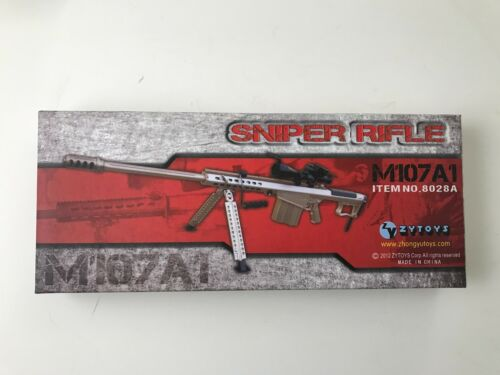 """M107A1 Rifle Version A by ZY Toys 1//6th Scale for 12/"""" Action Figure"""