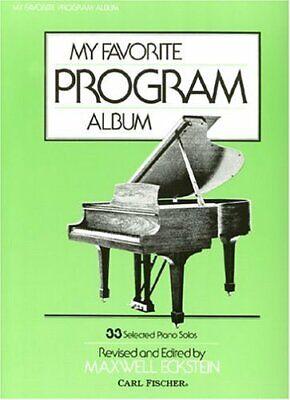 My Favorite Program Album 33 Selected Piano Solos O3198