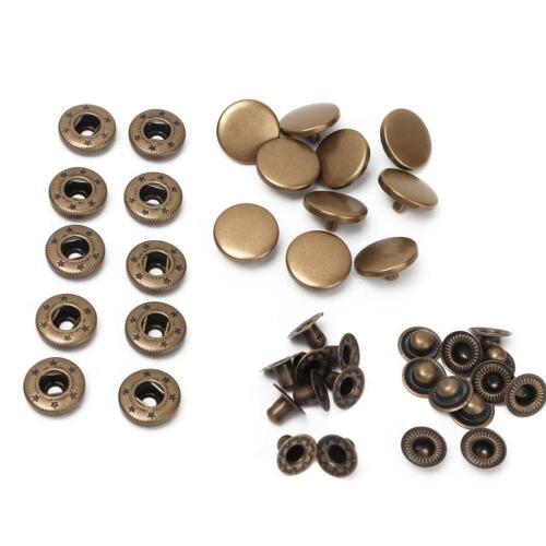 15 mm No Sew Sac à main Sac à Main Magnétique Snap Press Stud Bouton Fermeture Fermoir