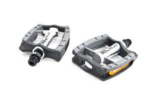 XLC-City-Confort-Pedale-de-bicyclette-PD-C09-poli-Aluminium-Corps-9-16-Noir