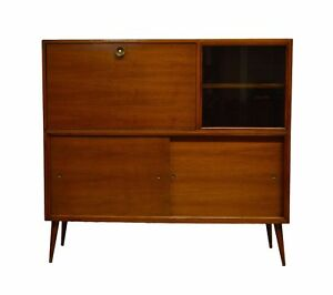 Image Is Loading M Singer Amp Sons Mid Century Modern Walnut