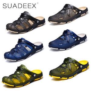 SUADEEX-Uomo-Sandali-e-scarpe-da-mare-Ciabatte-Pantofole-estate-Piscina-Mare