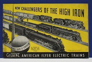 Original-1939-American-Flyer-Train-Catalog-Worlds-Fair-Exc-Cond-w-order-form