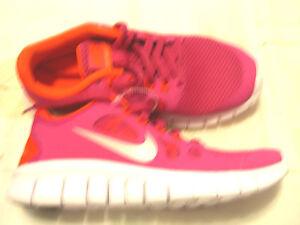 New women's Nike Free Neon Pink 5.0 shoes, 5Y(6.5M) eBay  eBay