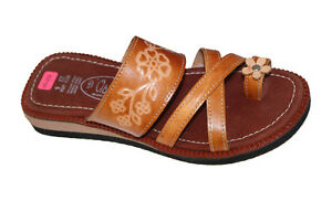 299b7446318a Image is loading LADIES-LEATHER-MEXICAN-SANDAL-HUARACHE-SLIP-ON-WOMEN-