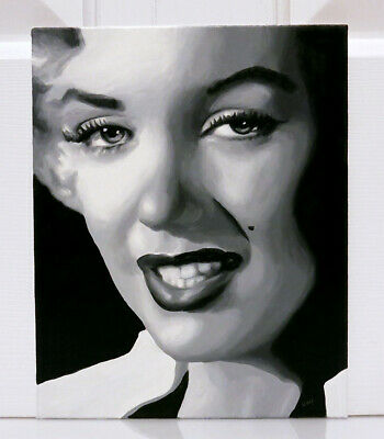 CHENPAT833 vogue hand paint Marilyn Monroe portrait oil painting  art on canvas