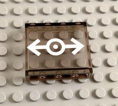 LEGO Lot of 2 Light Bluish Gray 1x4x3 Wall Panel Pieces