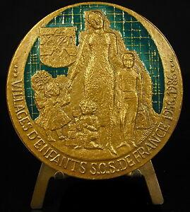 Medaglia-smaltata-SOS-bambini-Berechel-Sun-save-bambini-smaltato-69-mm-medal