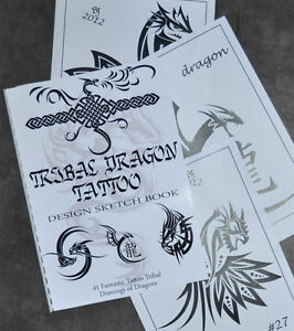 Tribal-Dragon-Tattoo-Sketch-Book-Fantastic-Designs-41-Drawings-Ready-to-Use