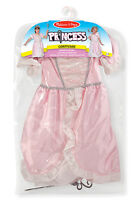 Girls Princess Fancy Dress Outfit & Accessories - Age 3-6 -