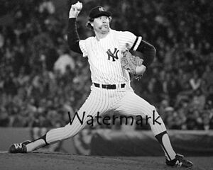 HOF-Goose-Gossage-New-York-Yankees-Game-Action-Black-amp-White-8-X-10-Photo-Pic