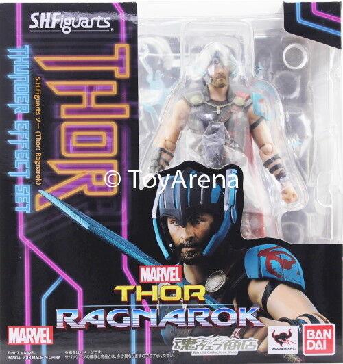 S.H. Figuarts Marvel Thor Thunder Effect Set Thor: Ragnarok Action Figure