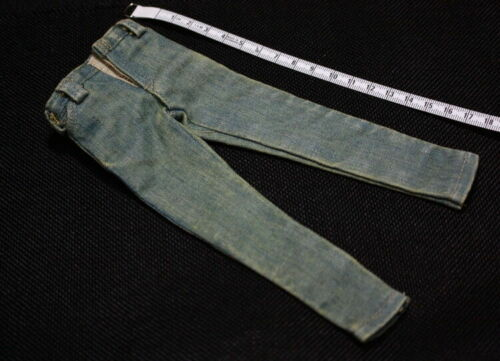 1//6 M33 Male Pants Nostalgic Light Blue Jeans F 12/'/' Action Figure