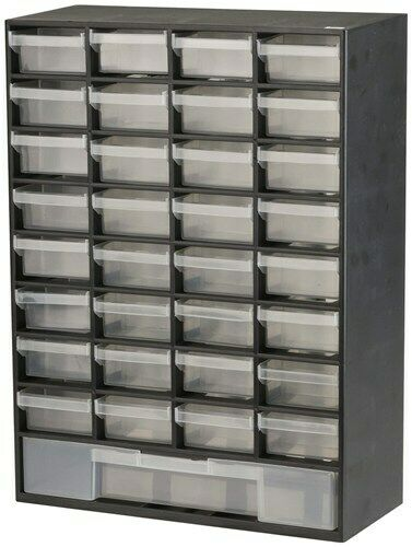 33 Drawer Parts Cabinet 414 H x 304 mm HB6330 Brand New x 135 D W