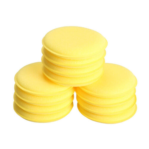12Pcs//Set Car Polishing Waxing Sponge Wax Purifying Vehicle Foam Clean Pad Tool