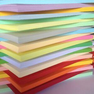 A4 A5 A6 (28 Colores) 80GM Papel de Colores Artes Manualidades Hojas de doble cara páginas  </span>