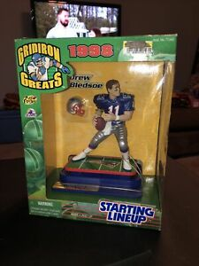 STARTING LINEUP GRIDIRON GREATS 1998 Drew Bledsoe New England Patriots Sealed