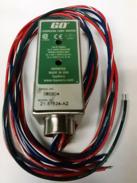 NEW GO SWITCH BY TOPWORX MODEL # 81-20516-A2 81 20516 A2 MAGNETIC PROXIMITY NIB