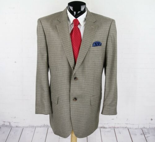 Navy Silk Houndstooth Feiss 48l Gold sportjack Joseph bruin Heren Wool wva7Bn1q
