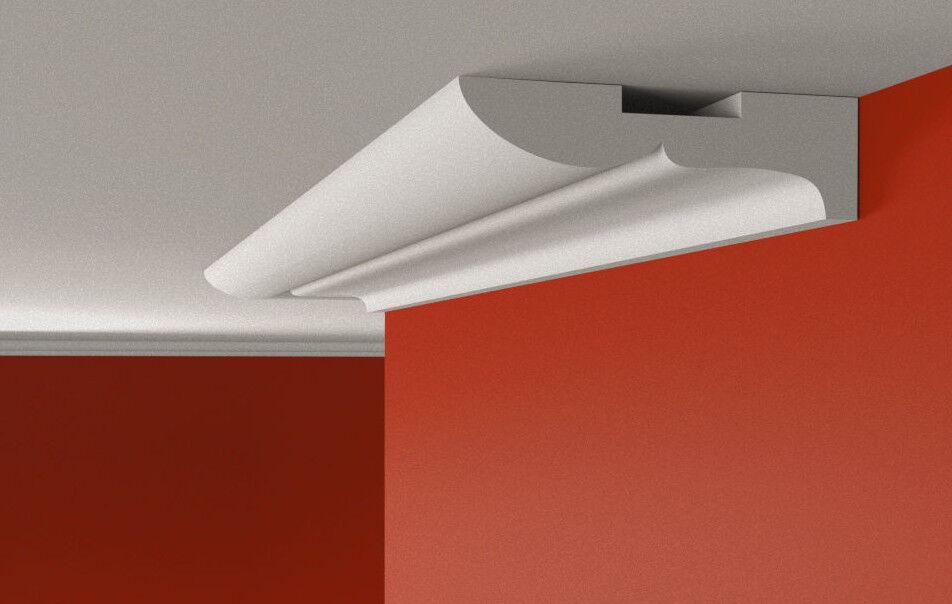 Flat Coving Cornice XPS Polystyrene BLX8 Cheapest MANY GrößeS AND TYPES Quality