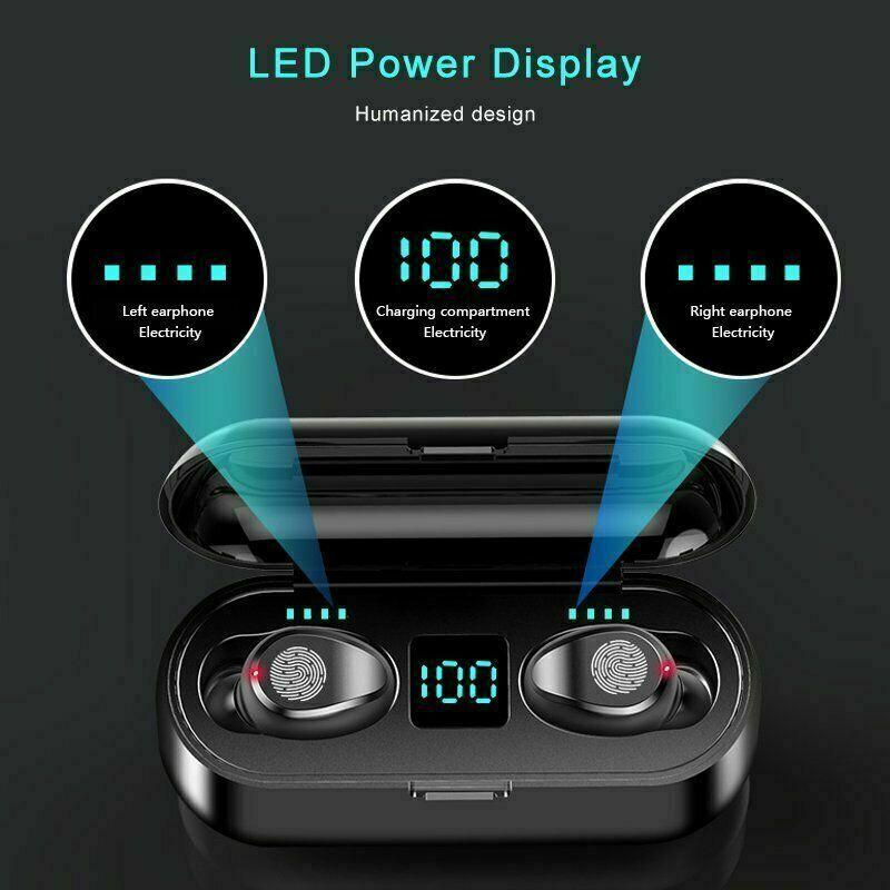 Image 51 - Bluetooth-5-0-Wireless-Earbuds-Headphone-Headset-Noise-Cancelling-TWS-Waterproof