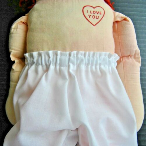 Hand Made Doll Clothes Replacement Panties to fit 25 inch Raggedy Ann doll