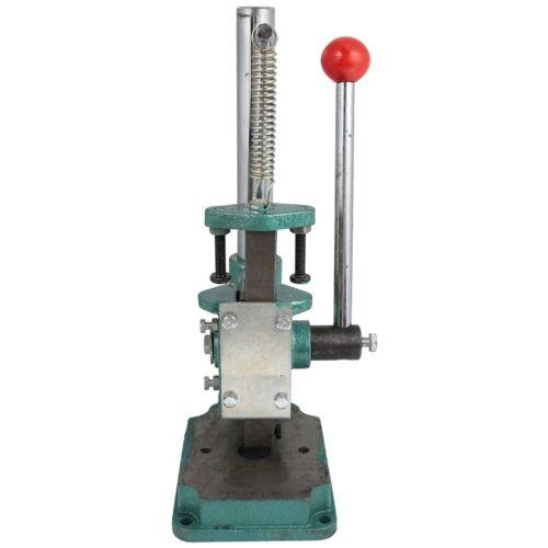 Small Hand Press Machine Desktop Manual Press Punch Machine Crimper Durable New