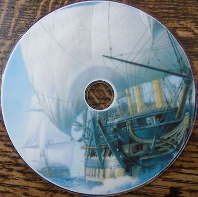 Vintage War ship sailing sail paintings battleships marine photo images 1000 DVD