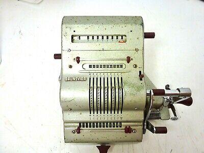 Beliebte Marke Olympia Rechenmaschine Brunsviga 50/60er Jahre