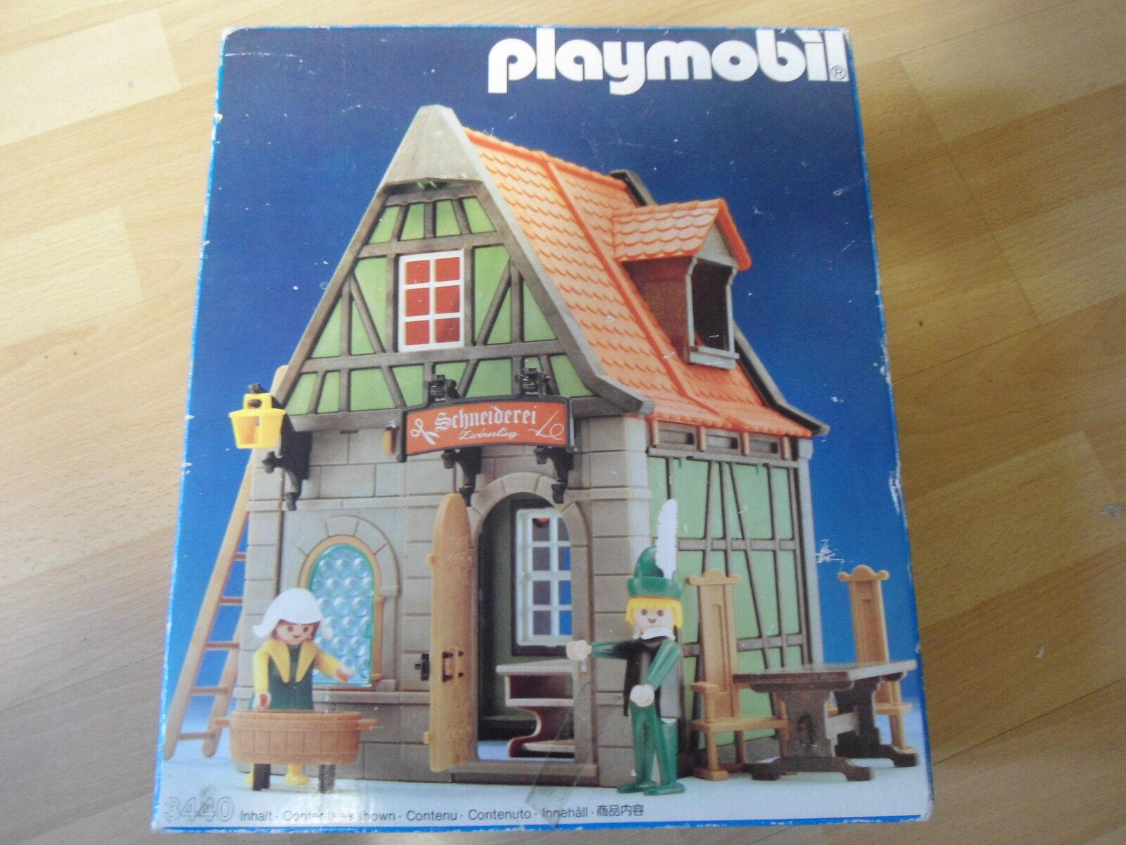 """Playmobil Klicky Set Set Set 3440 """"Schneiderei  +OVP selten gebraucht a70e87"""