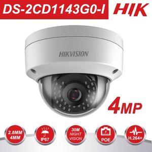 Hikvision-DS-2CD1143G0-I-4MP-PoE-4mm-ONVIF-Vandal-Dome-H265-DWDR-IP67-IR-30M