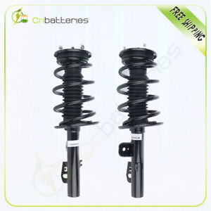 Front Pair Quick Complete Struts /& Coil Springs For 2010-2012 Ford Taurus