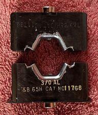 Thomas Amp Betts T Amp B 11768 30 Al Die Set For 13642 12 Ton Crimper Head