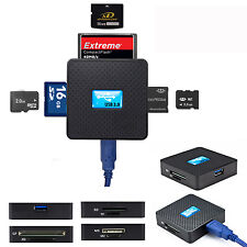 High Speed USB 3.0 All in 1 SD TF CF XD M2 MS Flash Memory Card Reader Adap