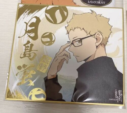Haikyuu To The Top Shikishi Kei Tsukishima Art Board Visual Collection Vol.4