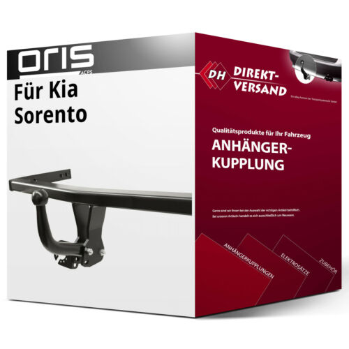 EBA top neu Oris Für Sorento I Typ JC Anhängerkupplung starr inkl