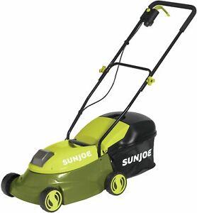 Cordless Lawn Mower, 14-Inch 28V Battery Powered Walk-Behind Yard Grass...