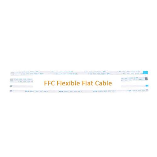 10Pin FFC//FPC Flexible Flat Cable Ribbon Pitch 0.5//1.0mm AWM 20624 Length 6-40CM