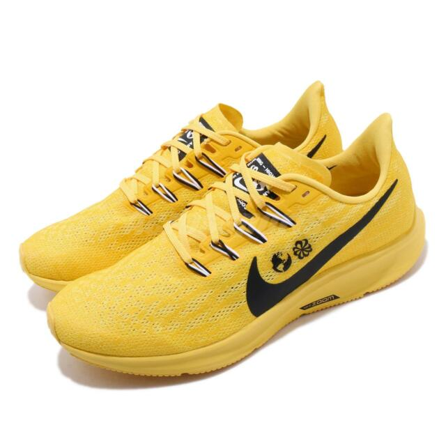 on sale a8d68 2fd2d Nike Air Zoom Pegasus 36 Cody Hudson Yellow Black Mens Running Shoes  CI1723-700