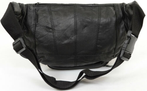 unisex Soft Fanny multiple con Pack Nappa Extra in pelle grande tasche BHqx6A