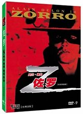 Zorro All Region DVD Alain Delon, Stanley Baker, Ottavia Piccolo Brand NEW UK R2